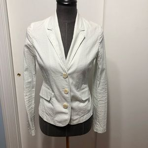 Juicy couture seersucker blazer 4